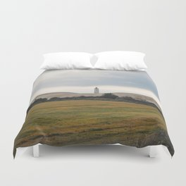 The Lonely Lighthouse Duvet Cover