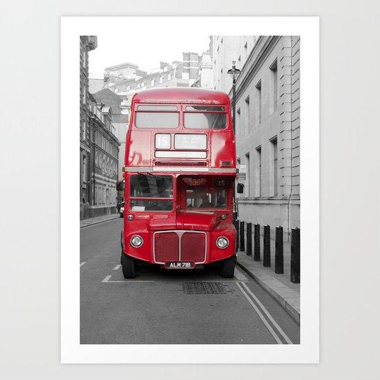 London Routemaster Art Print