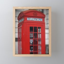 London series Framed Mini Art Print