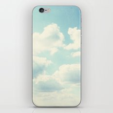 White Fluffy Clouds iPhone & iPod Skin
