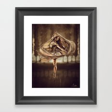 Dancerulean Framed Art Print