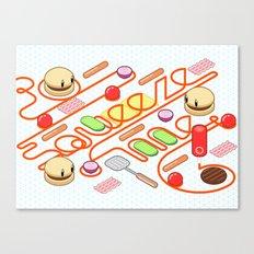 Tasty Visuals - Squeeze Me Canvas Print