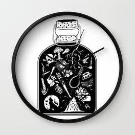 Bottled Emotion Wall Clock