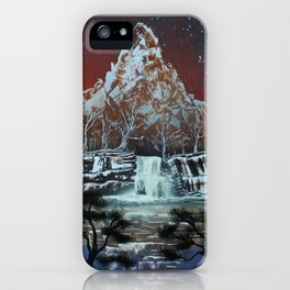 Night on the Lake iPhone Case