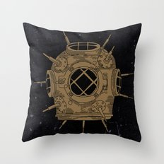 Dive Bomb. Throw Pillow