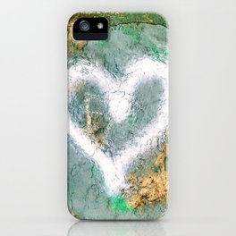graffiti heart iPhone Case