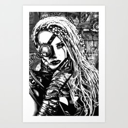 Cyber Art Print