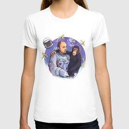 Karl Pilkington - An Idiot In Space T-shirt