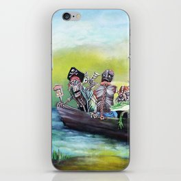 Pirate Booty Beach iPhone Skin