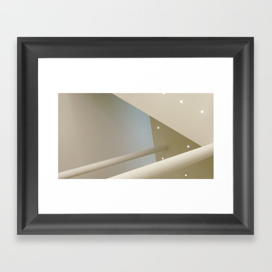 above #6 Framed Art Print