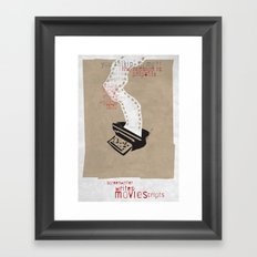 Screenwriter Framed Art Print