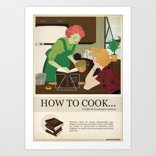 Villains Housewives (Français) Art Print