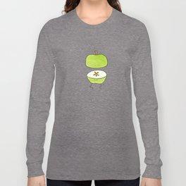 Apple Halves Long Sleeve T-shirt