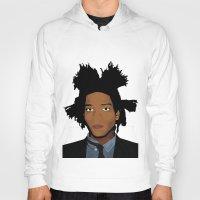basquiat Hoodies featuring Basquiat by evanski