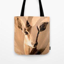 Beautiful and fast - Impala portrait Tote Bag