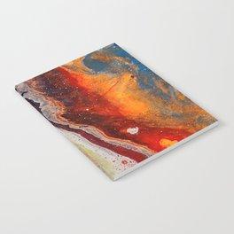 Fiery closeup Notebook