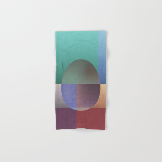 NO WAY OUT (abstract) Hand & Bath Towel