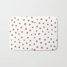 Goldie Dots Bath Mat