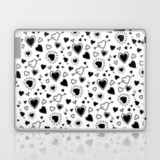 Hearts and hearts and hearts! Laptop & iPad Skin
