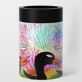 Fantasy birds favorite tea Can Cooler