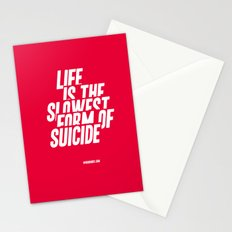 The Slowest Form Stationery Cards