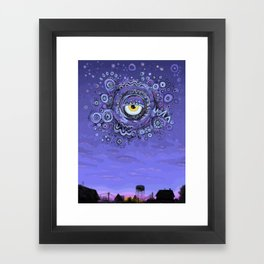 The Dragon of Evening Framed Art Print