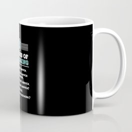 Computer Programmer Design: 6 Stages of Debugging Coffee Mug
