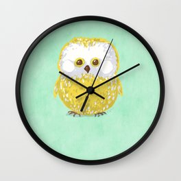 Oly the Owl  Wall Clock