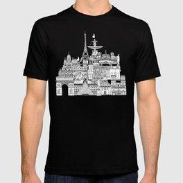 Paris toile cantaloupe T-shirt
