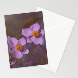 Petals in Lavender  Stationery Cards