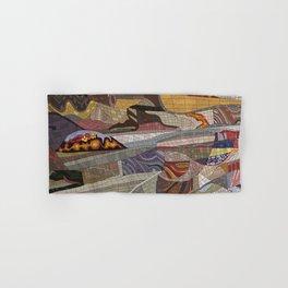 The Land Mosaic Hand & Bath Towel