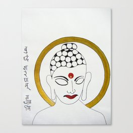 Buddha X Canvas Print