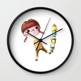 N de Tina Wall Clock