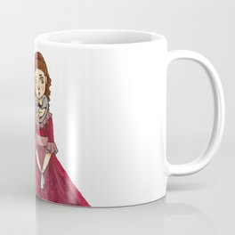 Little Girl With A Cat Coffee Mug