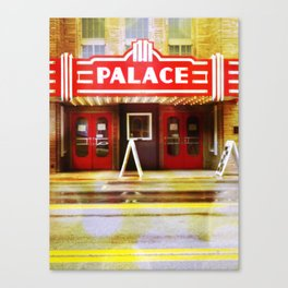 The Palace Theater Canvas Print