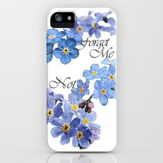 Forget Me Not iPhone (5, 5s) Slim Case
