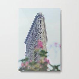 Flatiron Metal Print