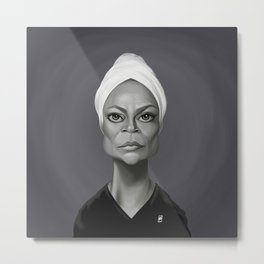 Eartha Kitt Metal Print
