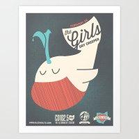 the Girls (local love) Art Print