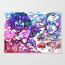Fun Times with Mary Jane 3 Canvas Print