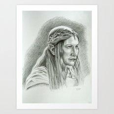 Galadriel Art Print