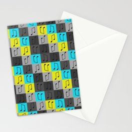 Musical repeating pattern No.4, Collection No.1 Stationery Cards