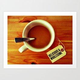 Morning Cup Art Print