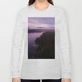 mahinapua golden hours purple Long Sleeve T-shirt