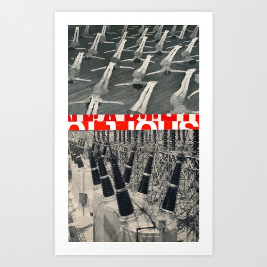 Power! Art Print
