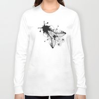 fly Long Sleeve T-shirts featuring Fly  by Edward Blake Edwards