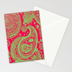 Paisley 4 Stationery Cards