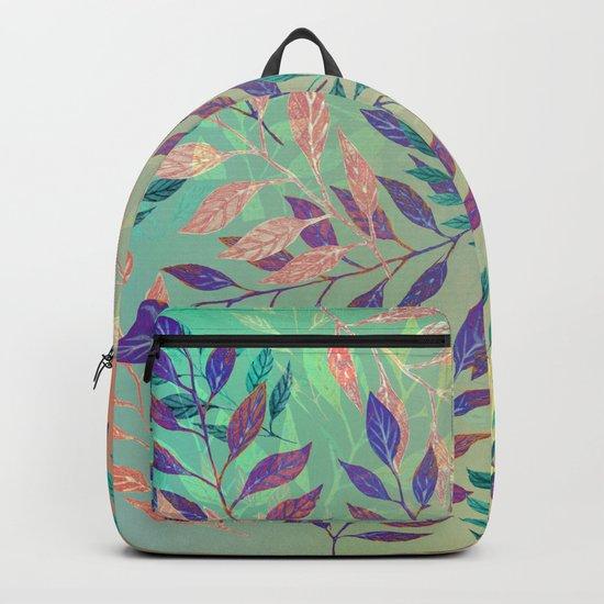 Abstract Leaf Arrangement (Atmospheric) Backpack