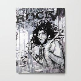 Johnny - the drummer Metal Print