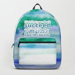 Adjust Your Ponytail Backpack